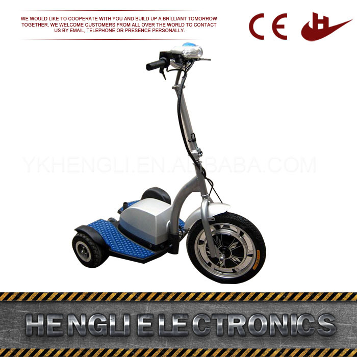 Excellent material new style electric scooter wholesale 3 wheel electric scooter for kids