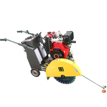 small diesel road cutting machine hand pushing type concrete cutter