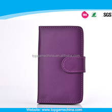 Wallet leather case for samsung galaxy s4 active I9500