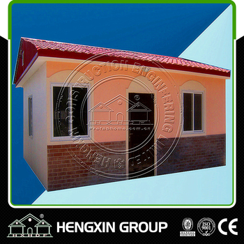 light steel srtucture prefabricated houses villa holiday living house affordable price Eco-friend for sale
