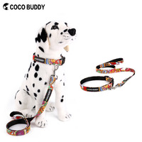 Fabric Pet Colorful Canvas Dog Collar Wholesale