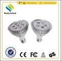 5w 7w aluminium led par lamp housing