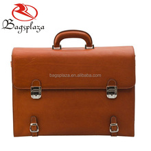 M4032 Trendy 2016 top quality man leather briefcase laptop briefcase