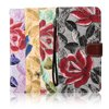 Wholesale Colorful printing leather flip case for Samsung galaxy s7 plus case,flower wallet mobile phone case cover for samsung