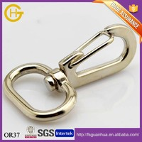 Nickel Plated Snap Hook Round Swivel Lobster Clasp