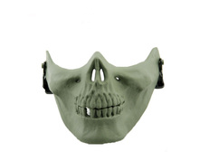 Eva Scary Movies Halloween Skull Half Face Mask