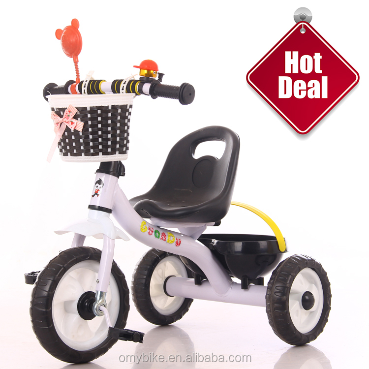 2018 Google wholesale China factory direct cheap price Japanese kids 3 wheel plastic tricycle for children