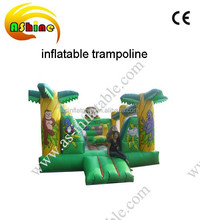 Inflatable trampoline ,inflatable jungle slide for sale