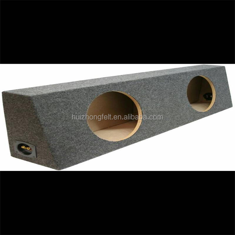1mm dark grey Polyester speaker felt
