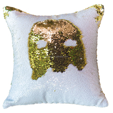 As seen on TV reversible sequin pillow cover