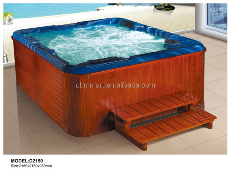 large outdoor spa pool/air jet outdoor swim pool spa hot tub