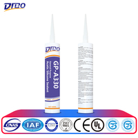 fast dry acetic Glass Silicone Sealant