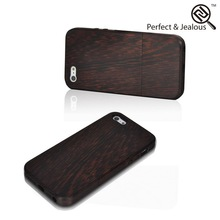 Hot new products Custom 2014 new wooden rechargeable battery case for iphone 5 5s