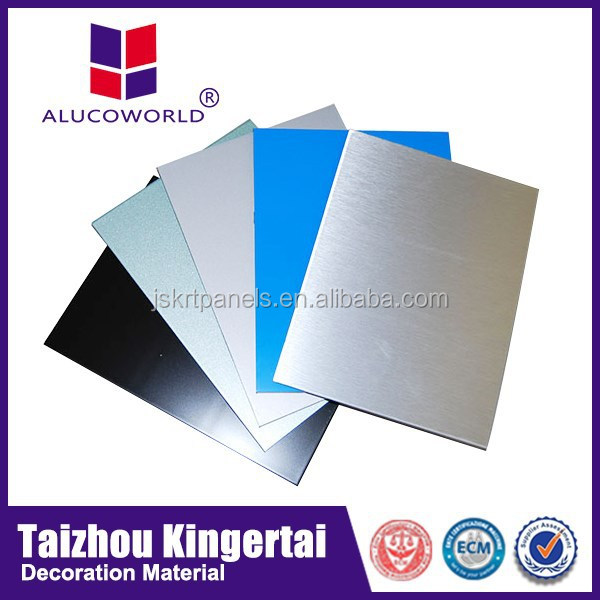 Alucoworld Featured High-peeling Aluminum Composite Panel external wall cladding