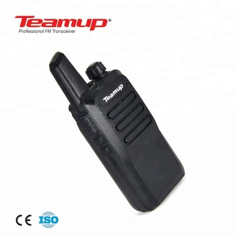 Teamup walkie talkie T2 with factory direct sale  price