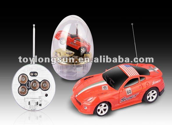 1:63 mini car in plastic egg,4 style 8 color