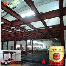 structure steel fire resistant coating paint anti fire powder coating for steel fire retardant coating machinery
