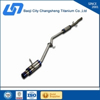 quantity stock titanium muffler for HONDA quanytity in stock