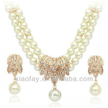 pearl necklace wedding Jewellery Set bridal Set for women