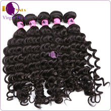 2014 Full cuticle tangle free 100% virgin unprocessed malaysian afro curl hair