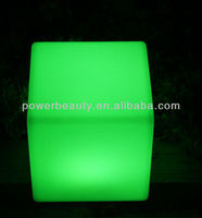 modern rechargeable seat lighting led cube/led cube table bar chair/led outdoor light cube