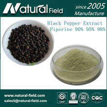 Powder Form and black pepper extract Type piperine 99%