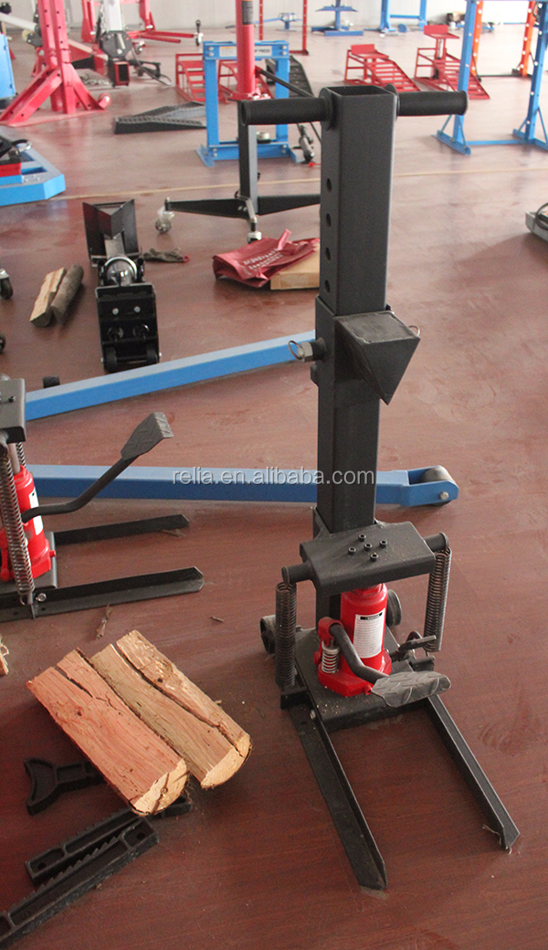 10 Ton Capacity Hydraulic Log Buster, Manual Wood Cutter