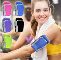 Quality Universal Double Mobile Phone Sport Arm Bag ,Mobile Phone Portable Running Arm Bag