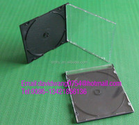 slim cd case black