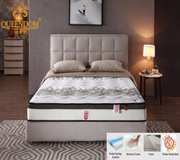 bedding furniture 5-zone queen size pocket spring mattress on promotion