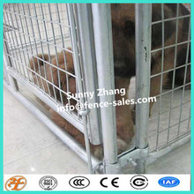 heavy duty welded outdoor dog cage with wheels