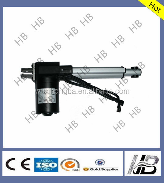 rotary linear actuator 12v worm drive gear motor dc for flip down ceiling tv lift