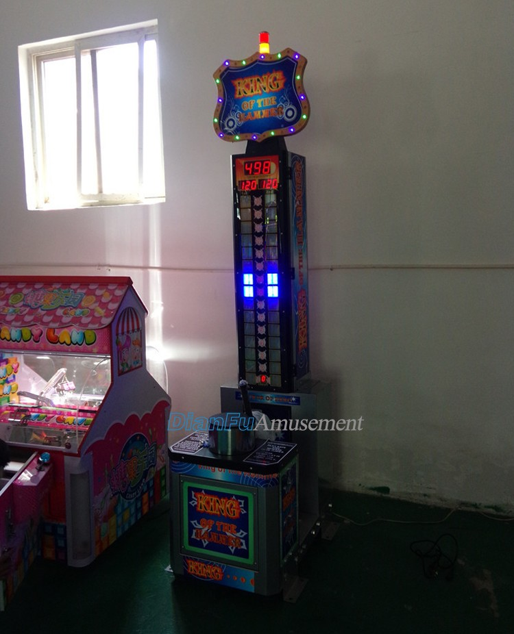 2016 new arrival cheap arcade Boxing Big Punch Boxing Coin Operated Redemption Arcade Game Machine for sale