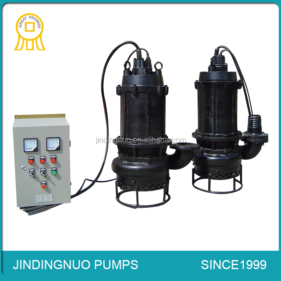 Submersible sand pumping equipment for dredging river