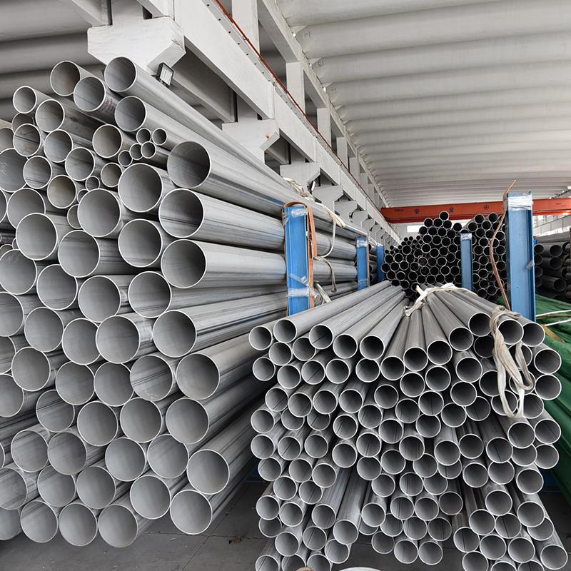 Welded Circular DIN EN 10296 2 Stainless Steel Tube