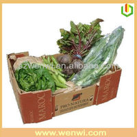 Disposable vegetable green box