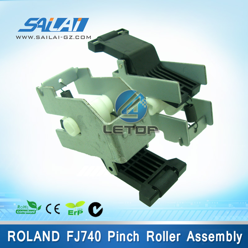 printer parts roland pinch roller assembly for roland fj740 machine