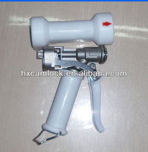White color stainless steel wash down gun