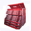 Metal drawer tool chest roller Cabinet with tools sets