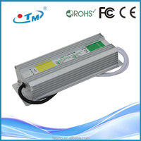 China manufacture mean well waterproof led driver power supply ip67 100w 36w with CE FCC RoHS