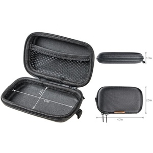 Rectangle Shaped Portable Protection Hard EVA Case,Mesh Inner Pocket, Durable Exterior,Lightweight, EVA pouch with zipper