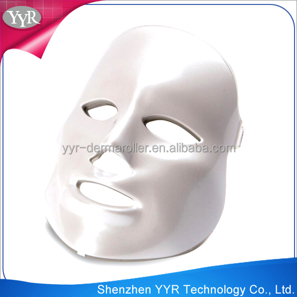 YYR home use skin care facial mask photon led skin rejuvenation pdt machine