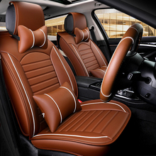wholesale custom Fashion comfort Universal leather car seat cover