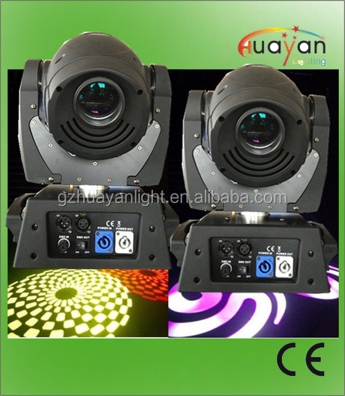 Color Mixing Professional Stage DJ/Disco Night Club 90W LED Moving Spot Light gobo projectors
