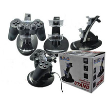 2017 Hot Game Accessories LED Dual USB Charging Dock Station Holder Support Charger For PS3 Controller Gamepad