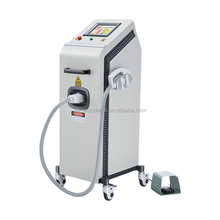 Vertical model facial rejuvenation freckle q switched nd yag laser tattoo removal machine
