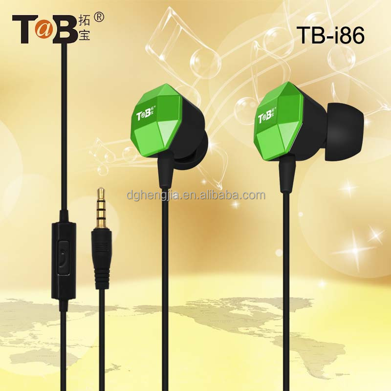 Factory direct salewooden earbuds with mic for mp3&mobile phone