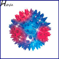 5.5cm Crazy Children Flashing Led Spike ball Bouncing Ball SL004