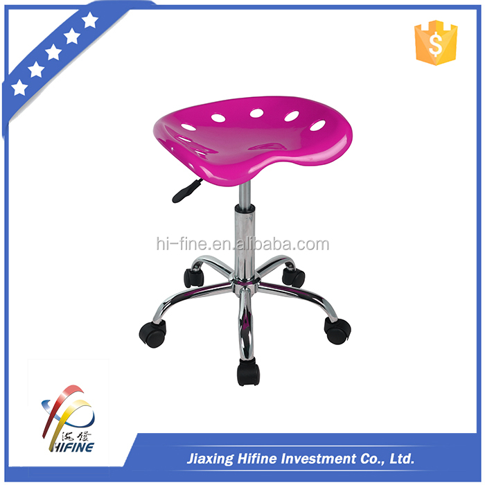 Colorful Adjustable Swivel Plastic Bar Stool Covers With