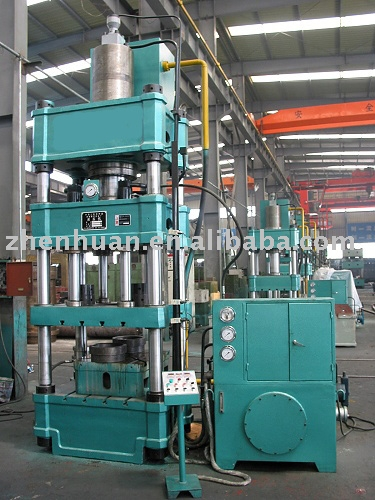 Double Action Hydraulic Stretching Press,double action hydraulic stamping presses,YQ28 series hydraulic press